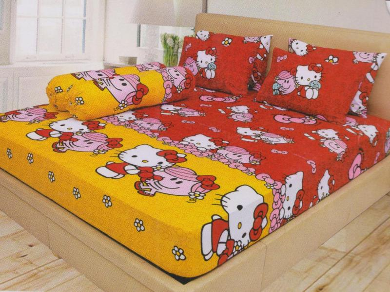 SPREI LADY ROSE HELLO KITTY RED