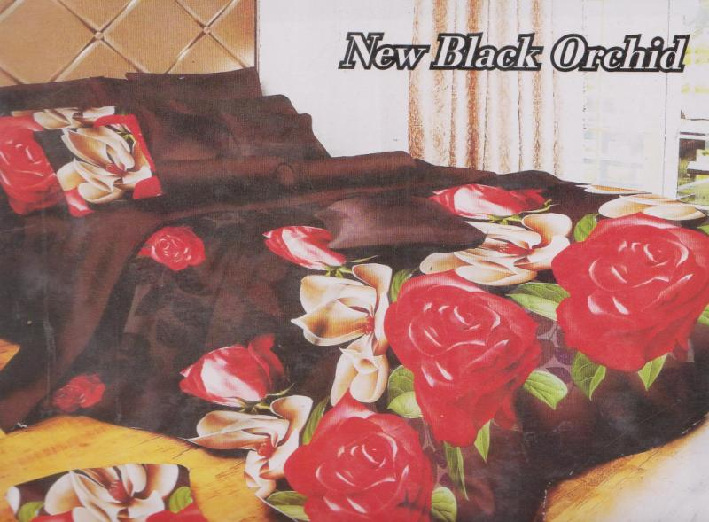 SPREI FATA NEW BLACK ORCHID