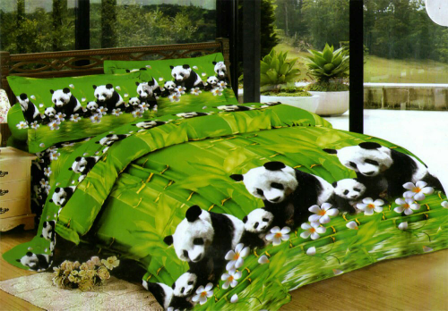 BED COVER LADY ROSE 180 PANDA