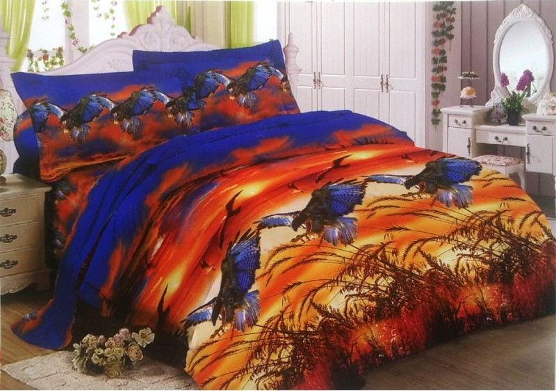 sprei dan bedcover lady rose eagle