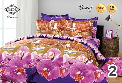 Sprei 120 Kendra orchid