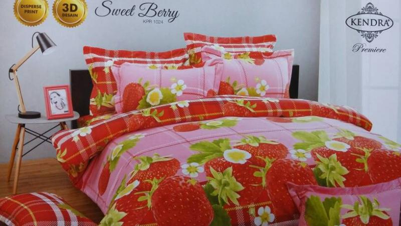 Sprei 120 Kendra SWEET BERRY