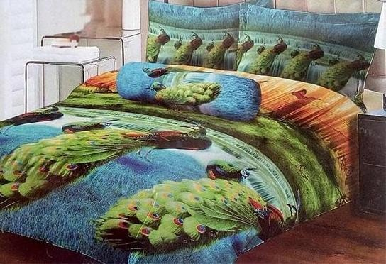 Sprei lady rose 180 sweet peacock