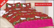 Sprei BONITA 180 HELLO KITTY PLAY