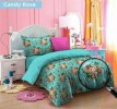 Sprei Katun Merry 180 Candy Rose