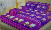Sprei Lady Rose 180 Kitty Ungu